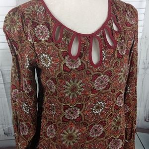 ANGL Tops - ANGIE PASLEY BLOUSE